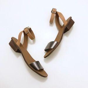 Madewell  Leather Block Heel Sandal
